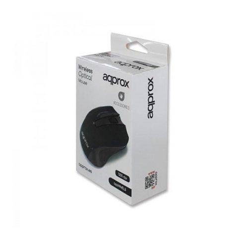 Ποντίκι-Approx-APPWMEB-2.4Ghz-ασύρματο-με-USB-nano-receiver-μαύρο-1
