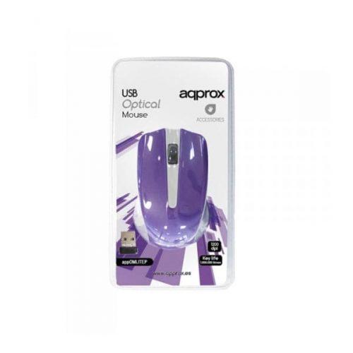 Ποντίκι-Approx-APPWMLITEP-2.4Ghz-ασύρματο-Purple-1
