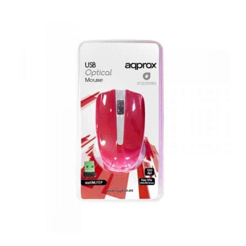 Ποντίκι-Approx-APPWMLITERV2-2.4Ghz-ασύρματο-GreyLight-red-1