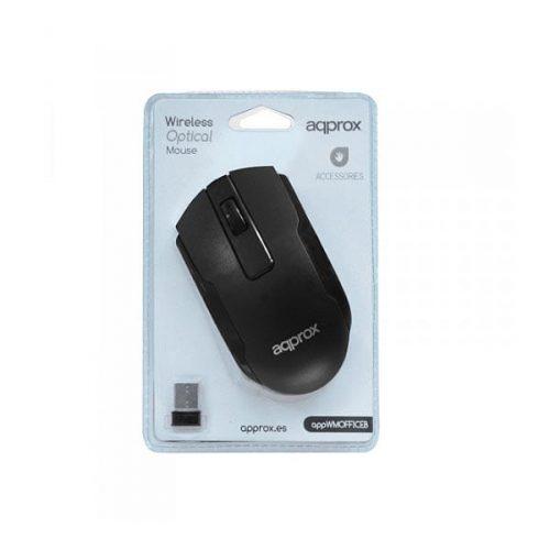 Ποντίκι-Approx-APPWMOFFICEB-2.4Ghz-ασύρματο-με-USB-nano-receiver-μαύρο-1