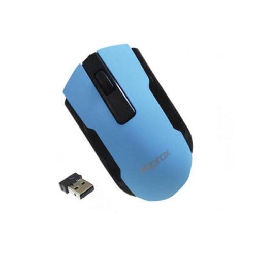 Ποντίκι Approx APPWMOFFICLB 2.4Ghz ασύρματο με USB nano receiver μπλε