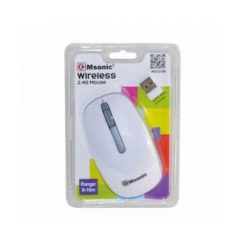 Ποντίκι-MX707W-2.4Ghz-ασύρματο-με-USB-nano-receiver-άσπρο-Msonic-1