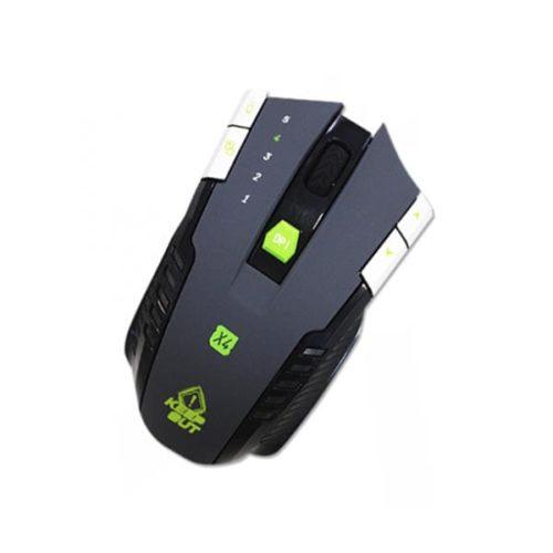 Ποντίκι X4 Gaming KEEP OUT USB Black 8 Keys 3500dpi