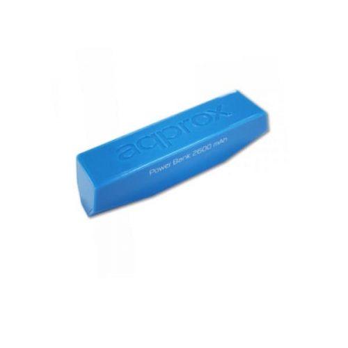 Φορητός Φορτιστής Approx PB26EVLB 2600mA Power Bank μπλε