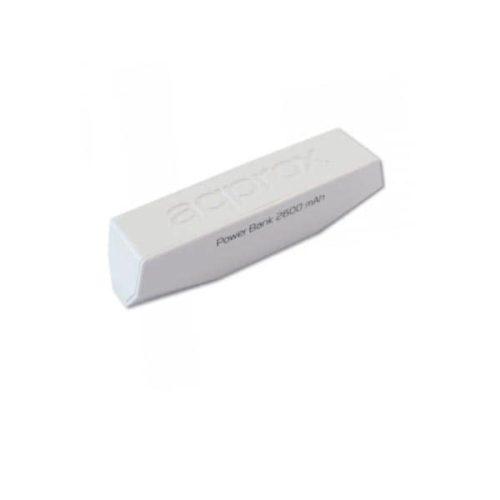 Φορητός Φορτιστής Approx PB26EVW 2600mA Power Bank λευκό