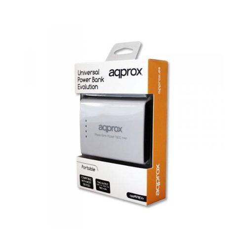 Φορητός-Φορτιστής-Approx-PB78EVW-7800mA-Power-Bank-λευκό-1