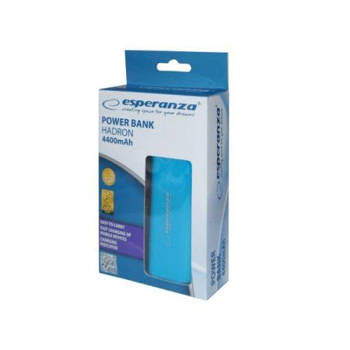 Φορητός Φορτιστής EMP105B 4400mA Power Bank μπλε