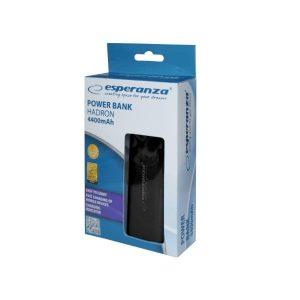 Φορητός Φορτιστής EMP105K 4400mA Power Bank μαύρο