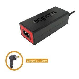 Φορτιστής για Laptop 65w APPA05 18.5V/3.5A 4.8 * 1.7mm Approx