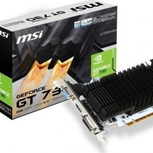 MSI VGA PCI-E NVIDIA GF GT 730 (N730K-2GD3H/LP) 2GB/64BIT DDR3