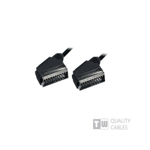 5M Scart Plug Plug 21C - Ccs Nickel