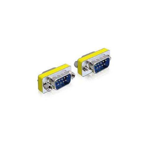 DELOCK Adaptor μετατροπής σειριακής θύρας SUB-D9 F/M 65009