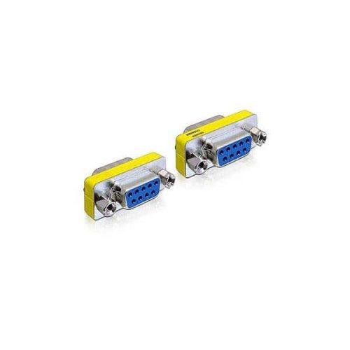 DELOCK Adaptor μετατροπής σειριακής θύρας SUB-D9 M/F 65008