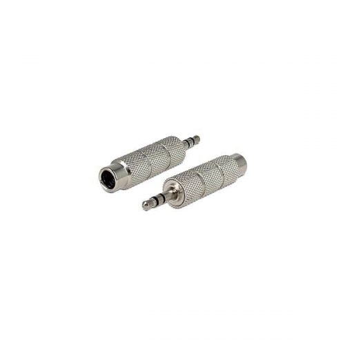DELOCK Adaptor Stereo 3.5MM /Stereo 6.3MM Metal