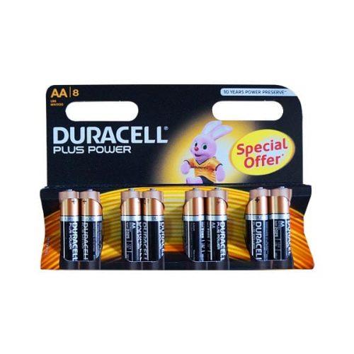 DURACELL PLUS POWER ALC AA 8τεμ. LR6 Αλκαλική Μπαταρία