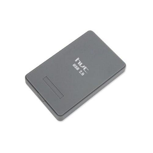 Enclosure γκρι μη βιδωτό HD202R USB2.0 2,5 SATA hvt