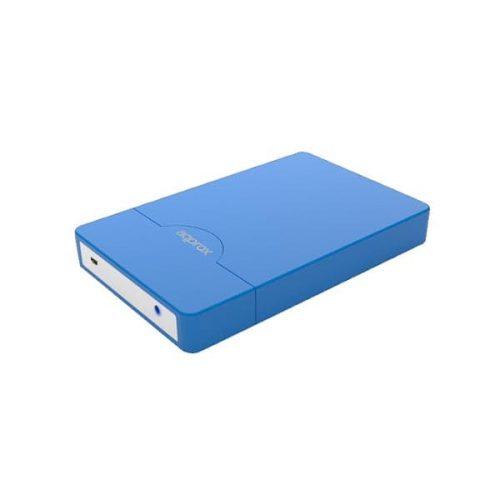 Enclosure μη βιδωτό 2,5 SATA 2.0 Approx μπλε APPHDD09LB