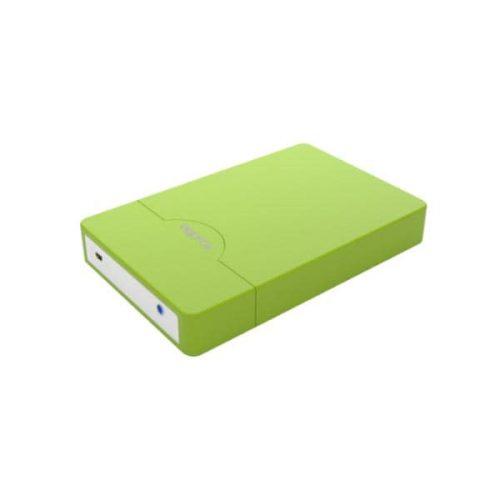 Enclosure μη βιδωτό APPHDD09GP 2,5 SATA 2.0 Approx πράσινο