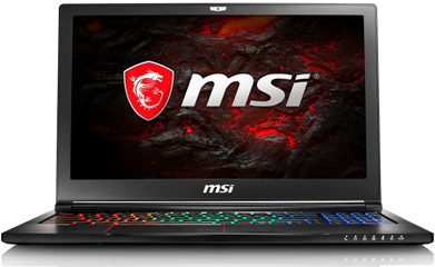 MSI LAPTOP STEALTH PRO GS63VR 7RF-219NL, 15.6″ TFT FHD, INTEL CPU i7 7700HQ