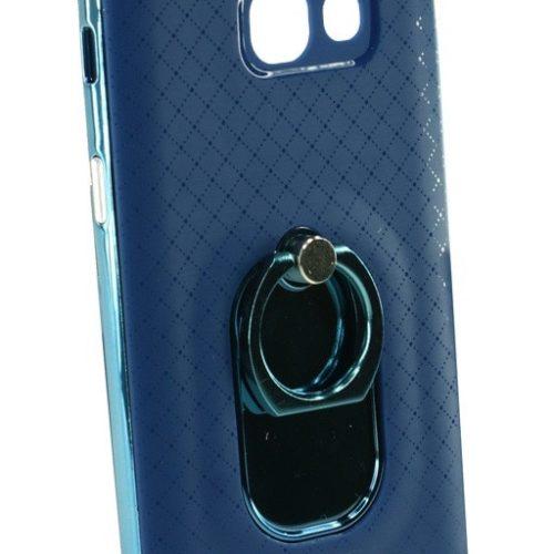 POWERTECH Θήκη Chrome Ring iPhone 7, Blue