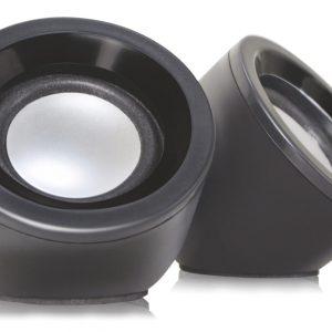 POWERTECH Multimedia Ηχεία PT-420 2.0 2x3W USB Aux in Black