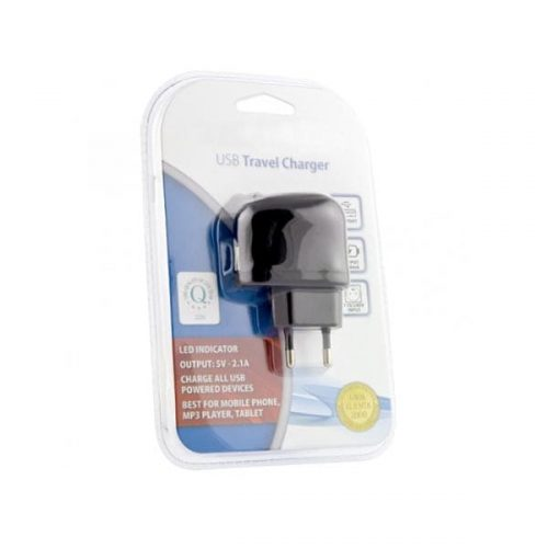 Universal-USB-Wall-Charger-5V-2.1A-μαύρο-EZ115-1