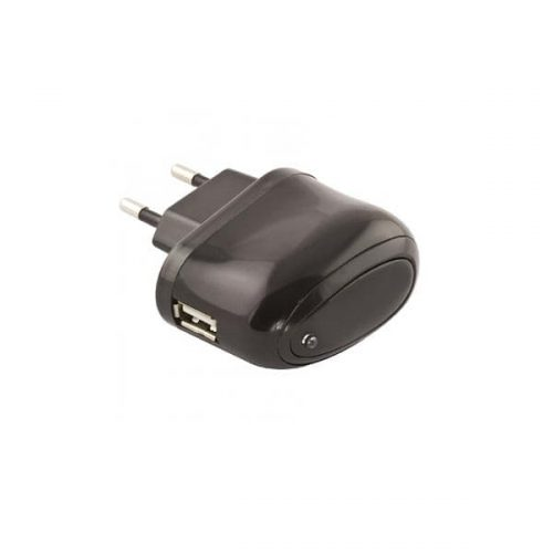 Universal USB Wall Charger 5V 2.1A μαύρο EZ115