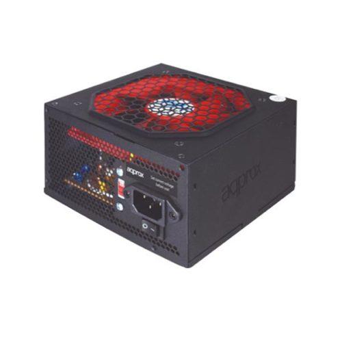 Τροφοδοτικό 500W black ATX 12cm Passive PFC Approx APP500LITEB Brown Box