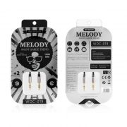 Cable WK Melody Aux (DC 3.5 to 3.5) WDC-019 Blackc