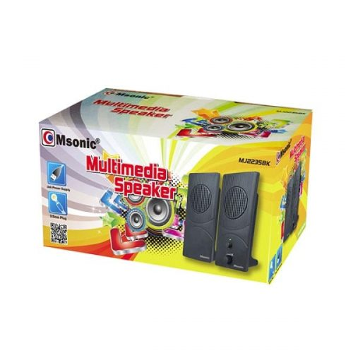 Msonic-Ηχείο-multimedia-2.0-Channel-2w-1