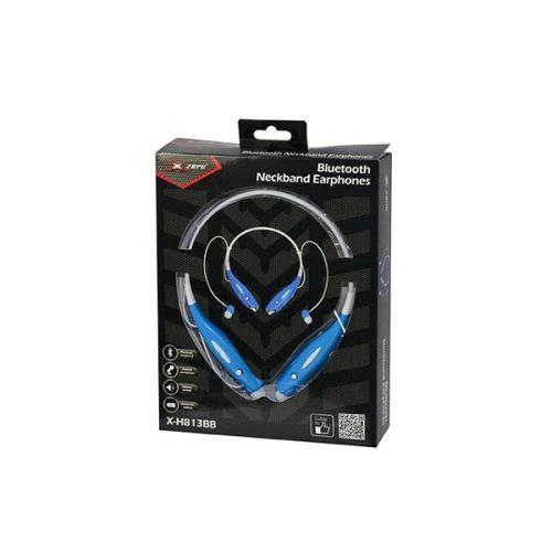 Ακουστικό-Χ-Η813ΒΒ-bluetooth-λαιμού-μπλε-Xzero-1
