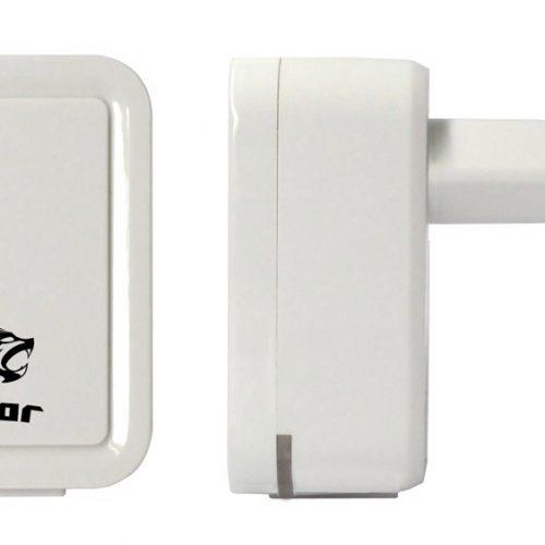 ROAR Φορτιστής PT-495, 2x USB, 2.1A, White