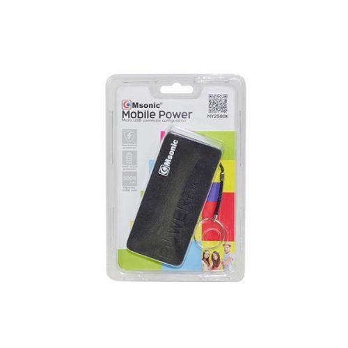 Φορητός-Φορτιστής-Msonic-5000mA-Power-Bank-μαύρο-MY2580K-1