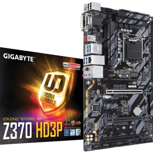 ΜΗΤΡΙΚΗ GIGABYTE Z370 HD3P, motherboards 1151, μητρικές κάρτες