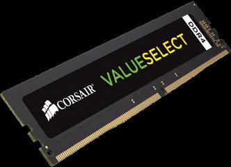 ΜΝΗΜΗ RAM CORSAIR 16GB, CMV16GX4M1A2666C18, μνήμες DDR4