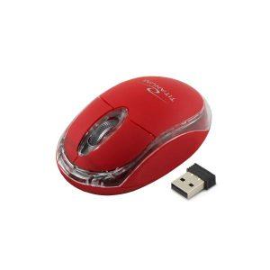 Ποντίκι 2.4Ghz ασύρματο οπτικό κόκκινο TM120R