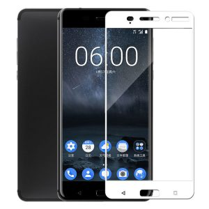 POWERTECH Tempered Glass 3D Full Face για Nokia 3