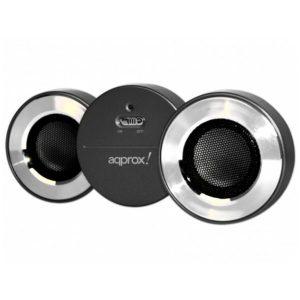 Ηχείο APPSPBTB Bluetooth V2.1 EDR Black Approx