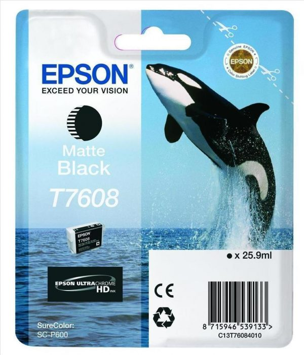 EPSON Cartridge Matte Black C13T76084010 ccccl 1