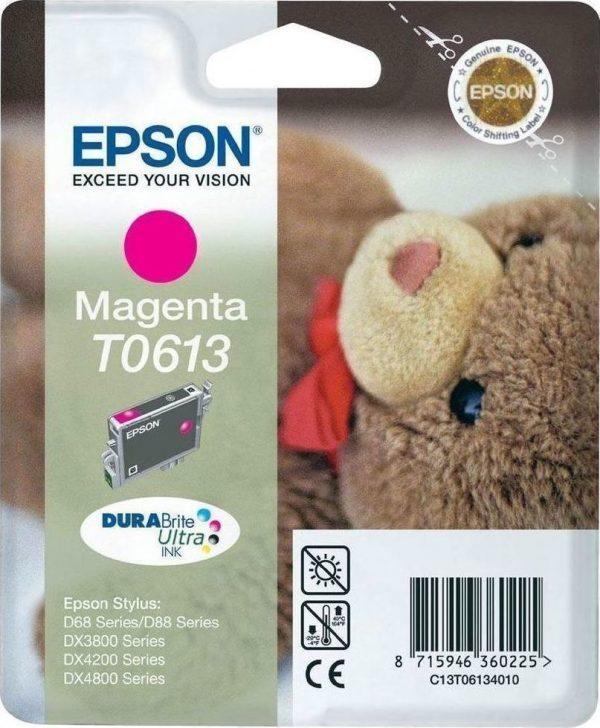 EPSON Cartridge Magenta C13T06134020 C13T06134020 1