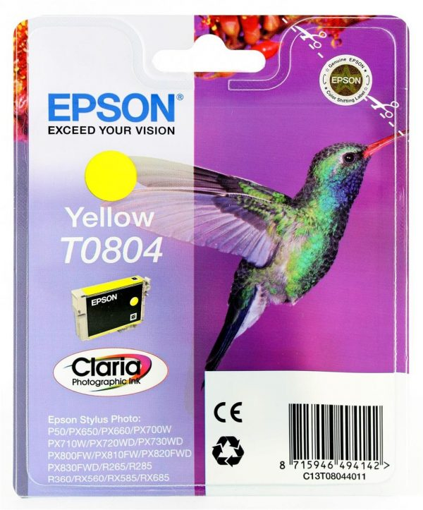 EPSON Cartridge Yellow C13T08044011 C13T08044011 1