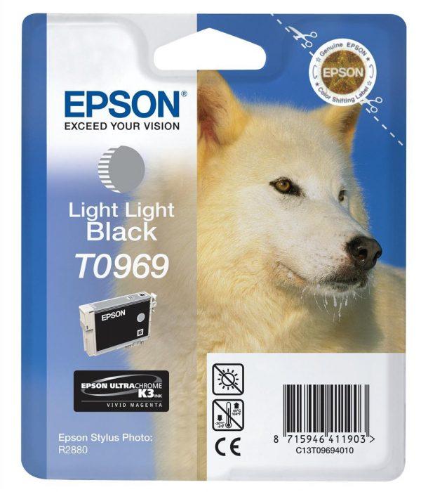 EPSON Cartridge Light Light Black C13T09694010 C13T09694010 1