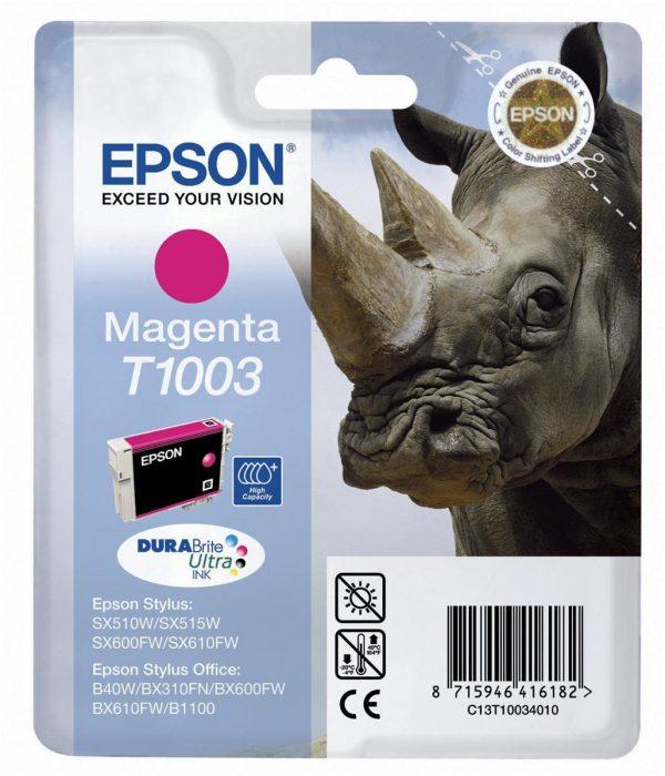 EPSON Cartridge Vivid Magenta C13T15734010 C13T10034010 1 1