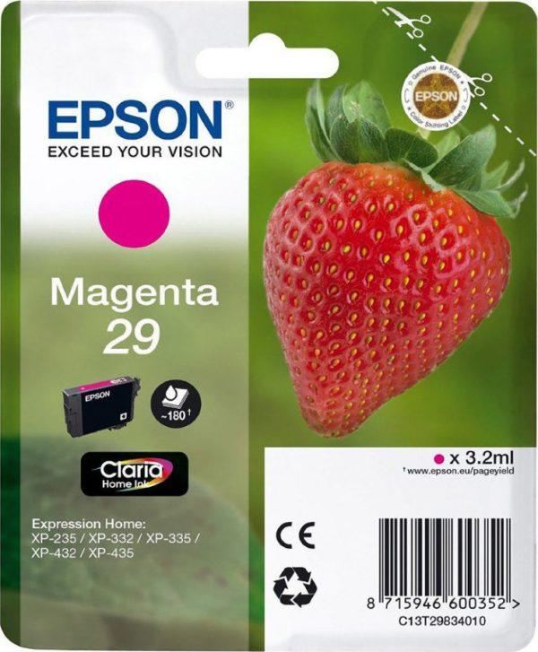 EPSON Cartridge Magenta C13T29834012 C13T29834012 1