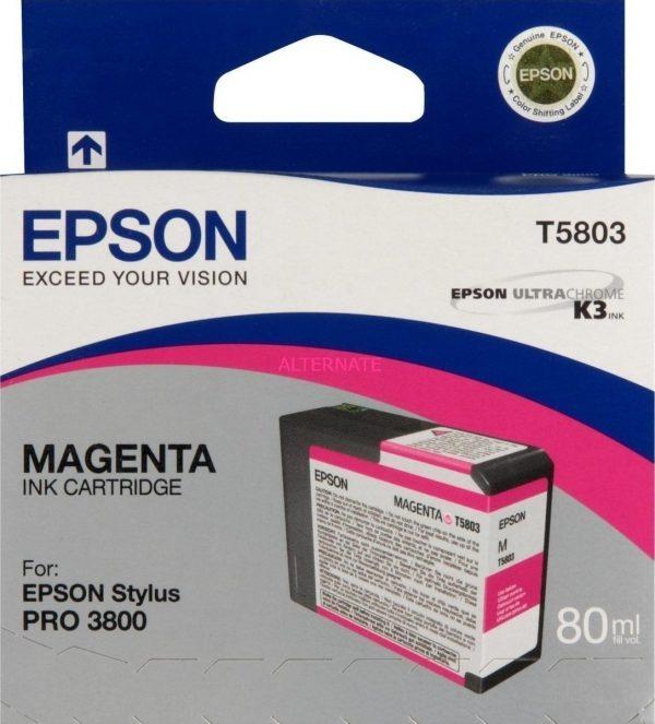 EPSON Cartridge Magenta C13T580300 C13T580300 1