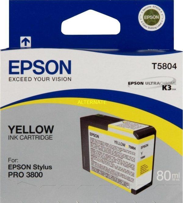 EPSON Cartridge Yellow C13T580400 C13T580400 1