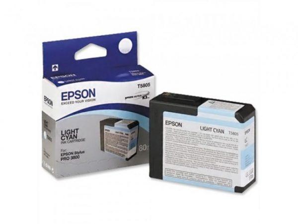 EPSON Cartridge Light Cyan C13T580500 C13T580500 1