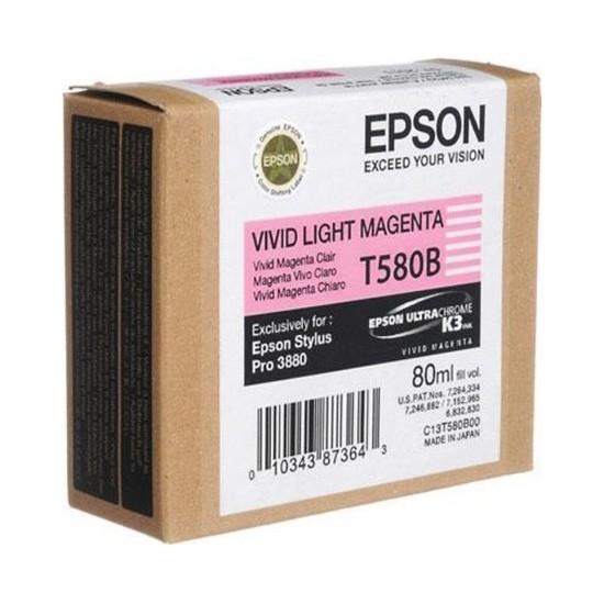 EPSON Cartridge Light Magenta C13T580B00 C13T580B00 1