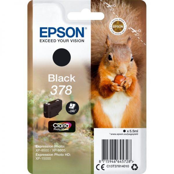 EPSON Cartridge Black C13T37814010 185 25 ET37814010 1
