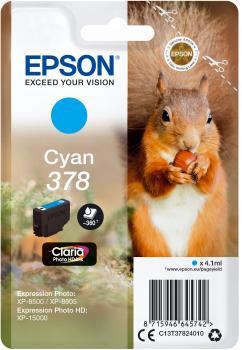 EPSON Cartridge Cyan C13T37824010 185 25 ET37824010 1